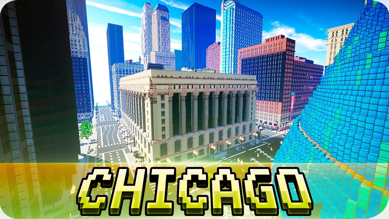 minecraft chicago map download