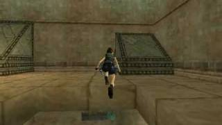 TRLE Walkthrough Underworld UB3 - The Tower of Babel (Part 03)