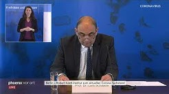 Pressekonferenz des Robert Koch-Instituts am 21.04.2020