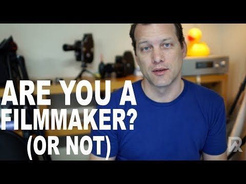 Are you a filmmaker?
