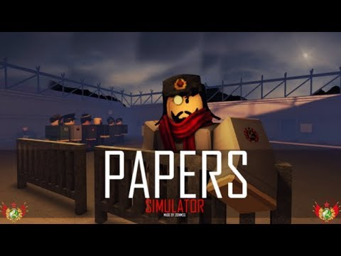 Papers Simulator Roblox Join Admission In Papers Please Youtube