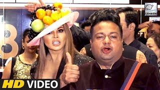 Rakhi Sawant And Deepak Kalal 's DISGUSTING Interview At ITA Awards 2018 | LehrenTV