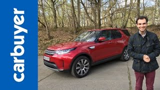Land Rover Discovery SUV 2017 review - James Batchelor - Carbuyer