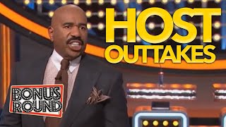 FAMILY FEUD HOSTS GO OFF SCRIPT! Best Family Feud OUTTAKES Steve Harvey, Gerry Dee, Grant Denyer