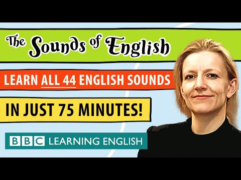 The complete guide to English Pronunciation | Learn ALL 44 sounds of English in 75 minutes!