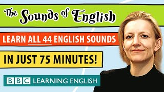 The complete guide t๐ English Pronunciation | Learn ALL 44 sounds of English in 75 minutes!