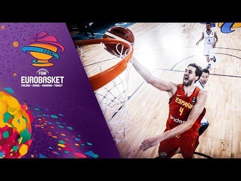 Czech Republic v Spain - Full Game - FIBA EuroBasket 2017