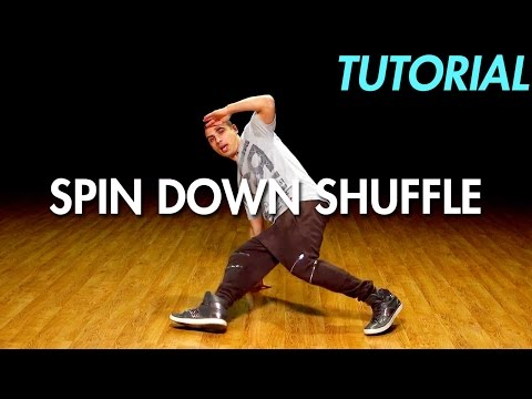 How to do the Spin Down Shuffle (Hip Hop Dance Moves Tutorial: Breakdance) | Mihran Kirakosian