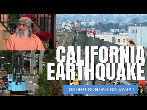 The Greatest Earthquake Coming to California | Sadhu Sundar Selvaraj