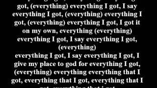 Rich Gang - Everything I Got Lyrics On Screen