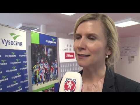 RFA: Na Vysočinu přijela podpořit mladé fotbalisty ministryně Valachová