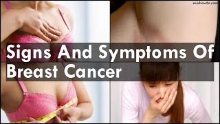 Signs And Symptoms Cancer