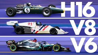 The Incredible Evolution of Formula 1 Engines | Track Evolution