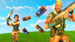 Noob Gets BLOWN TO BITS! Fortnite Funny Moments