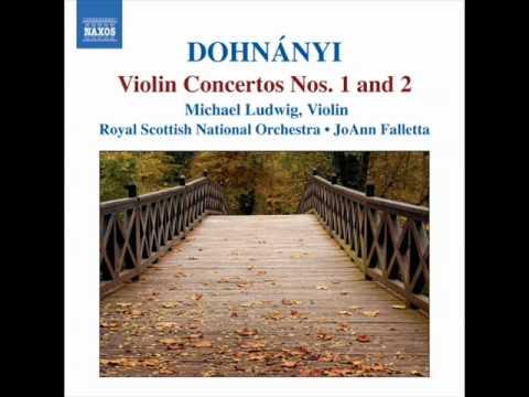 Dohnanyi Violin Concerto No 2