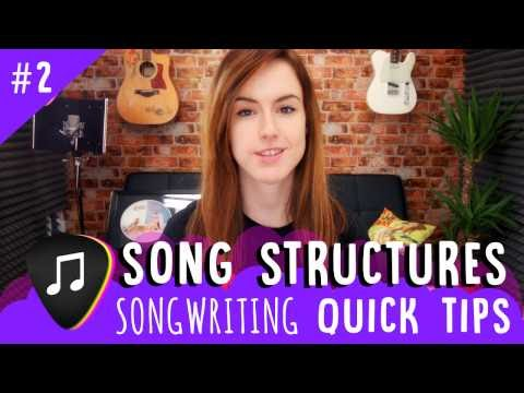 Songwriting Quick Tips – Song Structures (Episode #2)