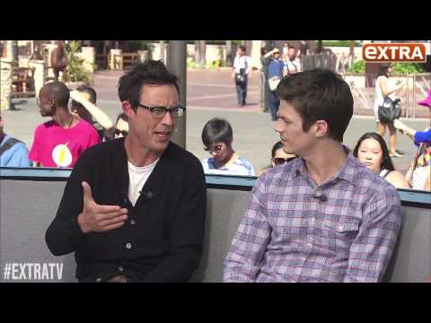 Extra: Grant Gustin and Tom Cavanagh Answer Fans Facebook Questions