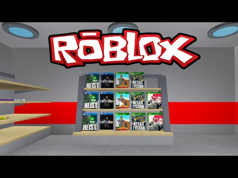 Roblox - Vendendo VideoGames ( Retail Tycoon ) #3