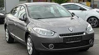 Наши Тесты Renault Fluence часть 1