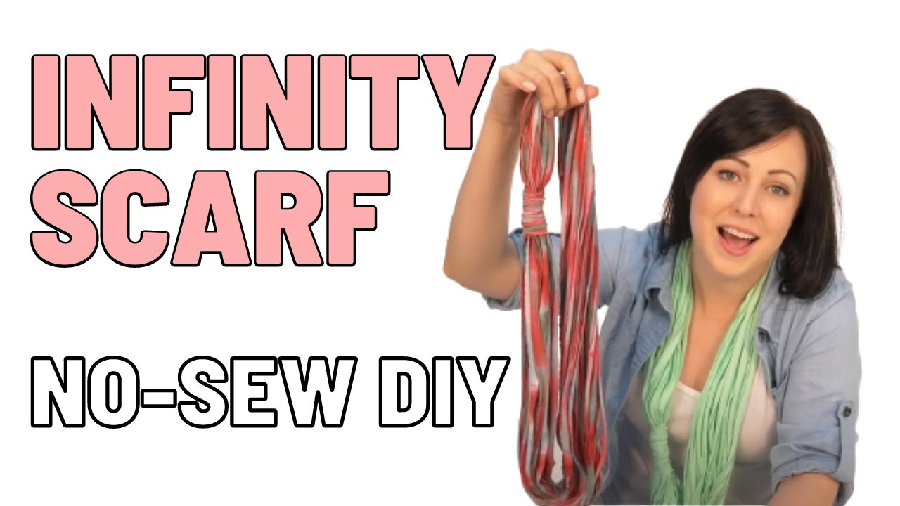 diy make no sew infinity scarves from t shirts