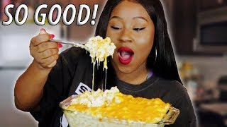 Download HOW TO MAKE MAC N CHEESE FROM SCRATCH! Mp3 and Videos