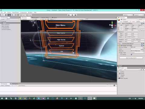 Modern GUI Development in Unity 4.6 - #9: Main Menu System