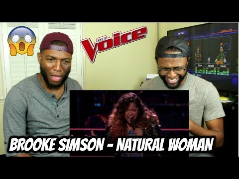 """The Voice 2017 Knockout - Brooke Simpson: """"(You Make Me Feel Like) A Natural Woman"""" (REACTION)"""