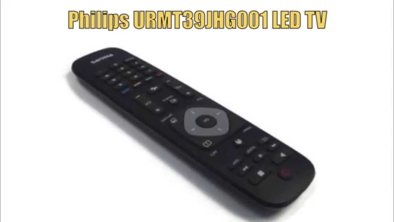 Fabriksnye PHILIPS URMT39JHG001 LED TV Remote - www.ReplacementRemotes.com YZ-63