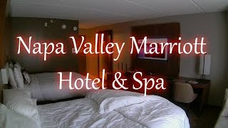 [HD] Napa Valley Marriott Hotel & Spa Room Tour