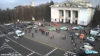 В Мариуполе прошла выставка ретро автомобилей