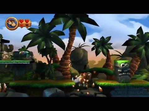 Guia Donkey Kong Country Return Pc Mundo 1 Jungla Niveles 1-1, 1-2, 1-3, 1-4