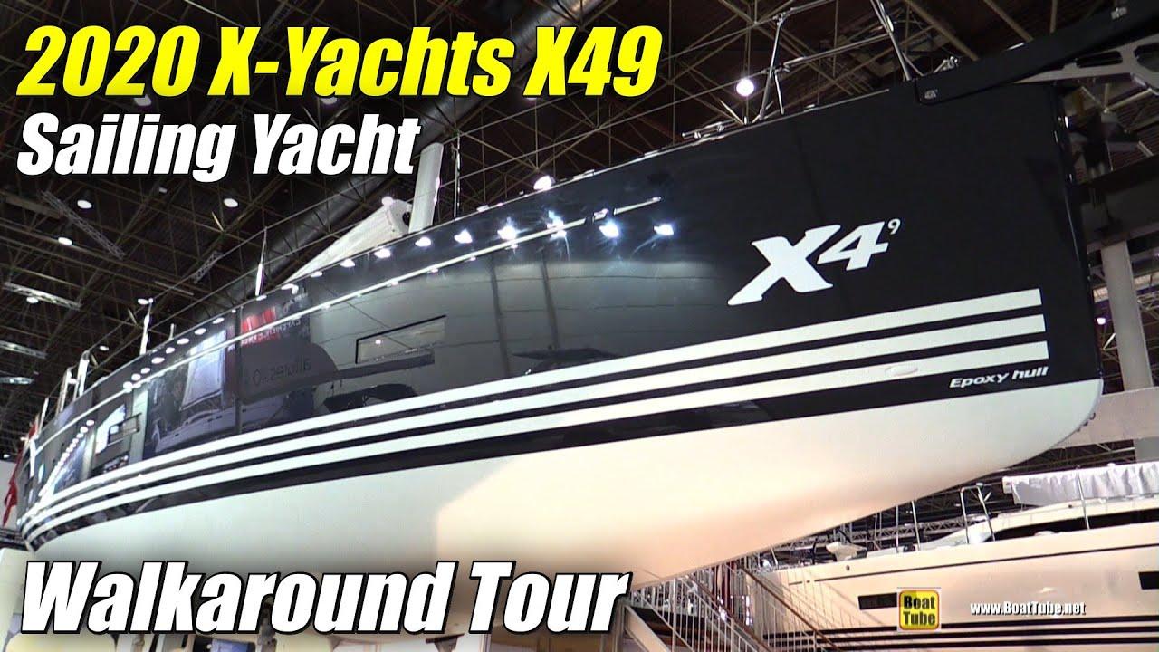 Download 2020 X-Yachts X49 Sailing Yacht - Walkaround Tour - 2020 Boot Dusseldorf