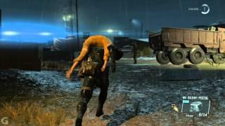 Metal Gear Solid V: Ground Zeroes. 4:12 Speed Run. Rank S.