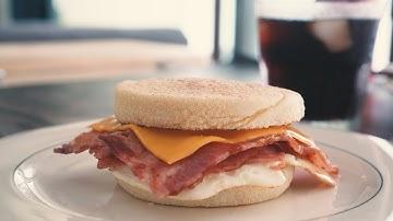 너무나 쉬운 맥모닝 만들기 / 베이컨 에그 맥머핀 DIY Egg McMuffin,  MacMorning