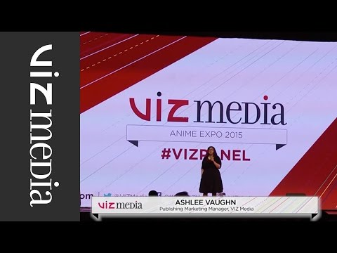 VIZ Media Panel - Anime Expo 2015