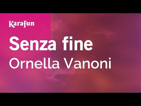 Karaoke Senza fine - Ornella Vanoni *