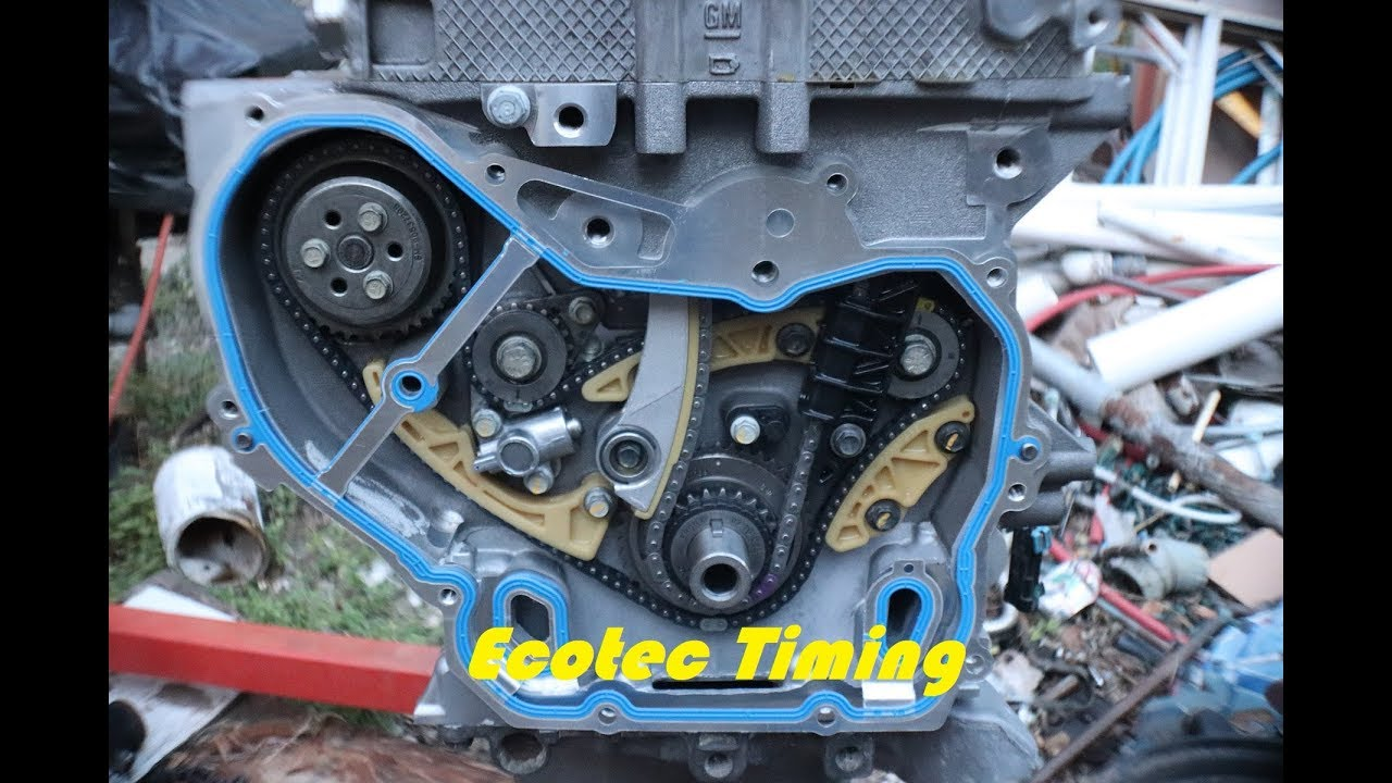 Just in Time`ing` (Ecotec Timing Chain Set) Part 5