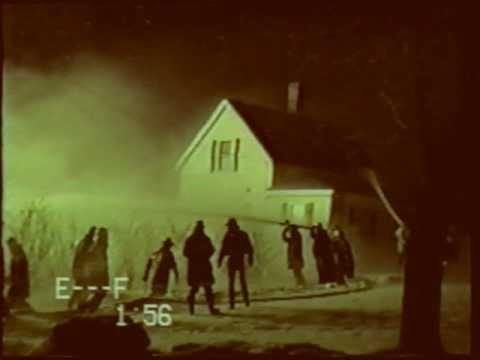 Dodges Variety Store Fire -January 10, 1988 - Lubec, Maine