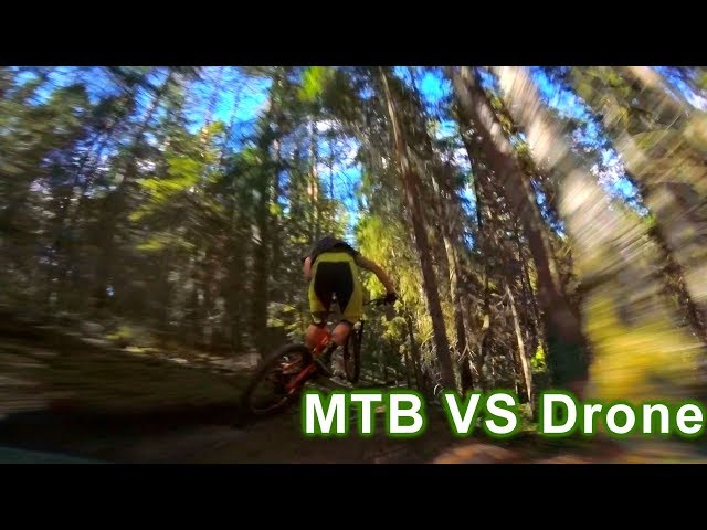 MTB VS DRONE | Race Drone Following Enduro Mtb | Fpv Drones