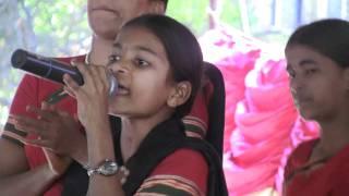 telangana folk singer sing s a song on dhoom dham program