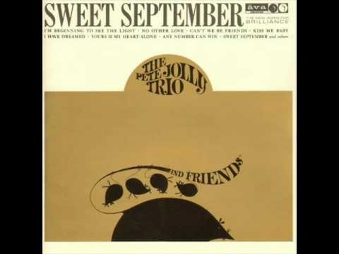 Pete Jolly Trio - Yours Is My Heart Alone