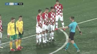 LITVA U-21 vs HRVATSKA U-21 1:3 (kvalifikacije za Europsko prvenstvo 2021.)