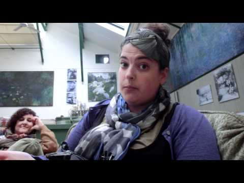 Will interviews Marina in regards to the whereabouts of Claud Monet's hat at Giverny.
