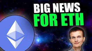 BIG ETHEREUM NEWS: [Vitalik Says This Is Bigger Than DeFi...]