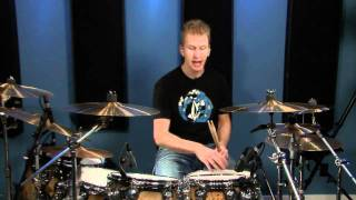 8th Note Triplets Over A Samba - Drum Lessons