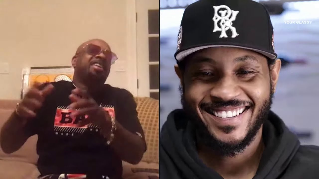 Jermaine Dupri | What's In Your Glass? | Carmelo Anthony
