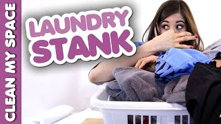 Help! My Laundry Stinks! Helpful Tips for Keeping Laundry Fresh and Clean (Clean My Space) Thumbnail