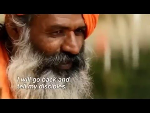 Hindu Maharishi Guru of Gurus Sees Jesus Christ In A Dream  HD