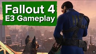Fallout 4 Gameplay - E3 2015 Bethesda Conference - Character creation, combat and VATS