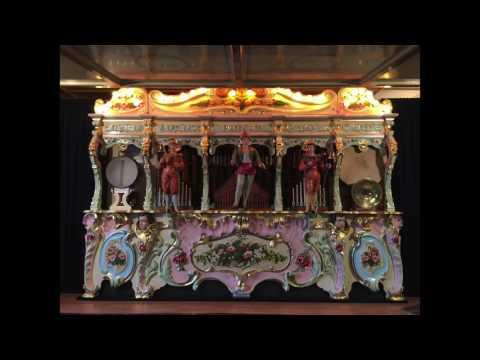 89 Key Pierre Eich Organ - A. & J. Reid